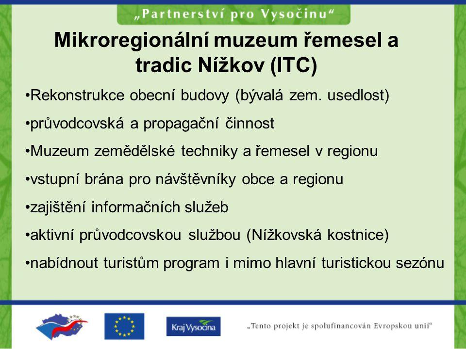 Mikroregionální muzeum řemesel a tradic Nížkov (ITC)