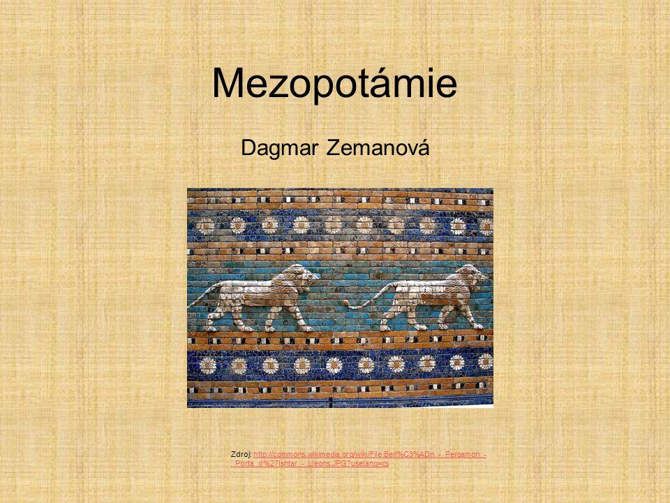 Mezopotámie Dagmar Zemanová