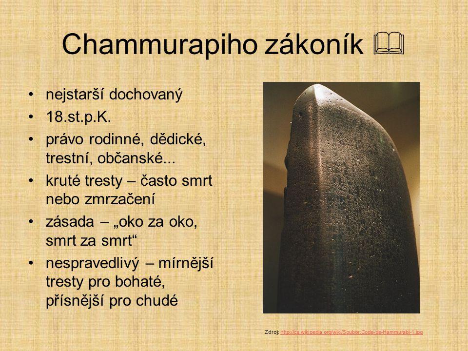 Chammurapiho zákoník 
