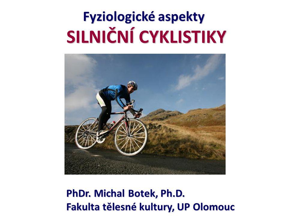 SILNIČNÍ CYKLISTIKY Fyziologické aspekty PhDr. Michal Botek, Ph.D.
