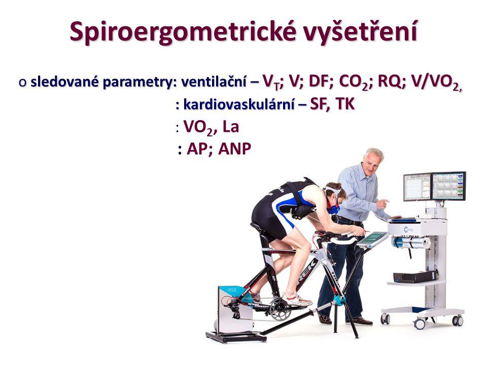 Spiroergometrické vyšetření
