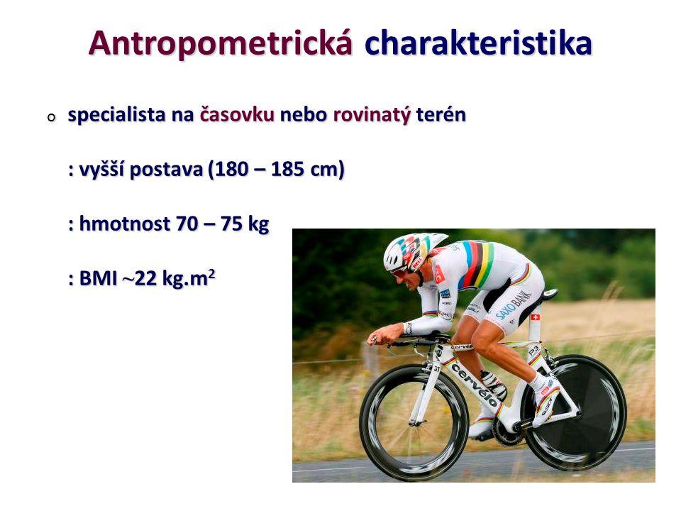 Antropometrická charakteristika
