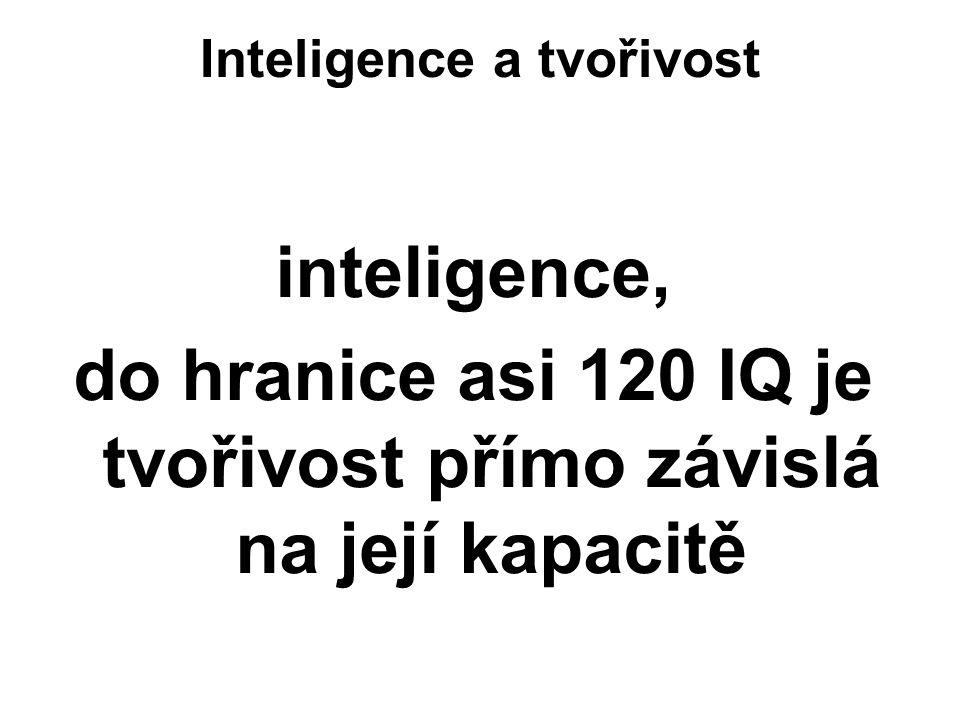 Inteligence a tvořivost