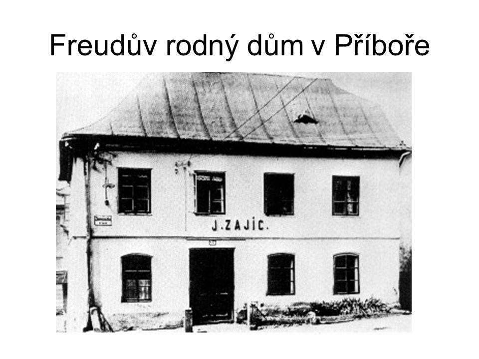 Freudův rodný dům v Příboře