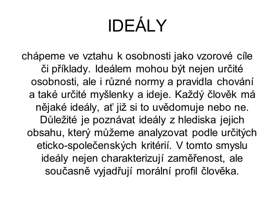 IDEÁLY