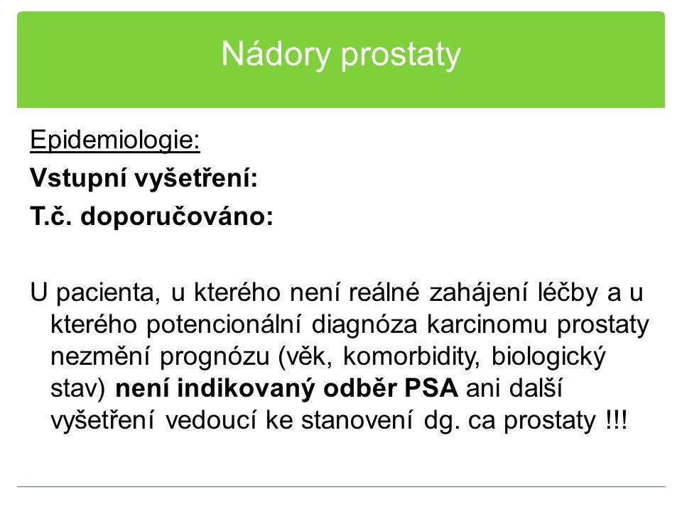 Nádory prostaty