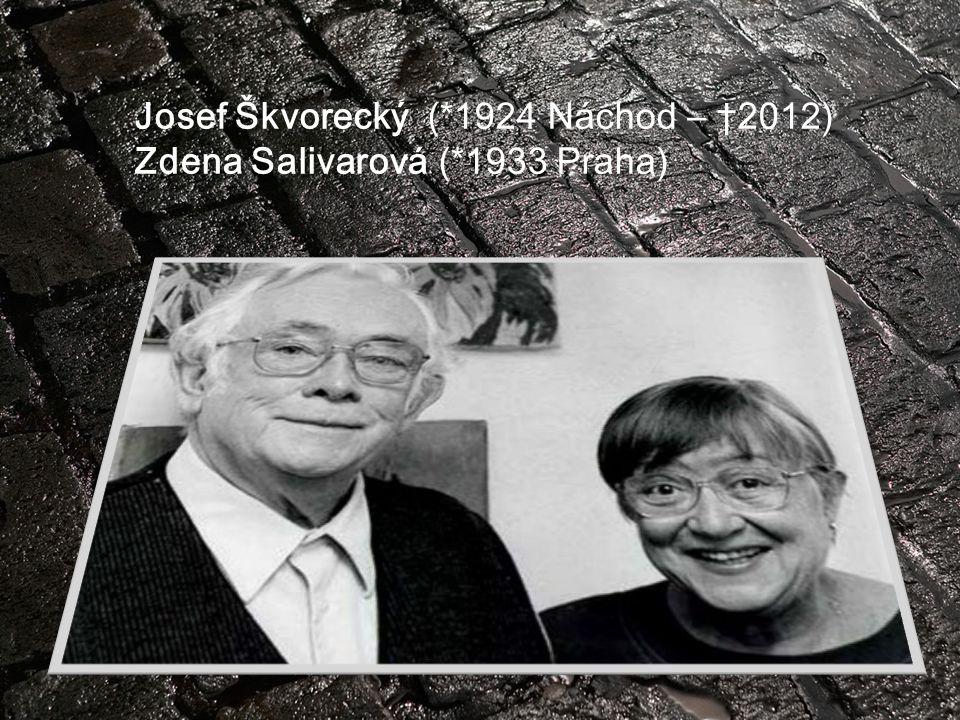 Josef Škvorecký (*1924 Náchod – †2012)