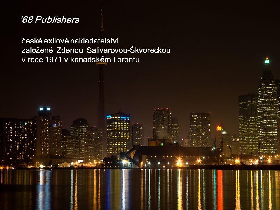 68 Publishers české exilové nakladatelství