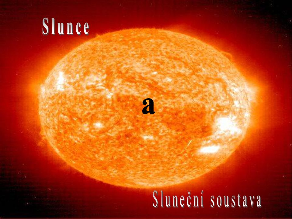 Slunce a Sluneční soustava