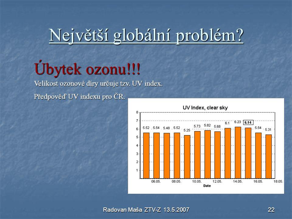 Největší globální problém