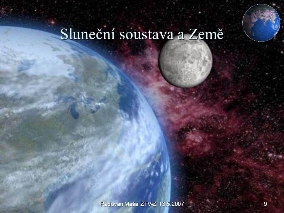 Sluneční soustava a Země