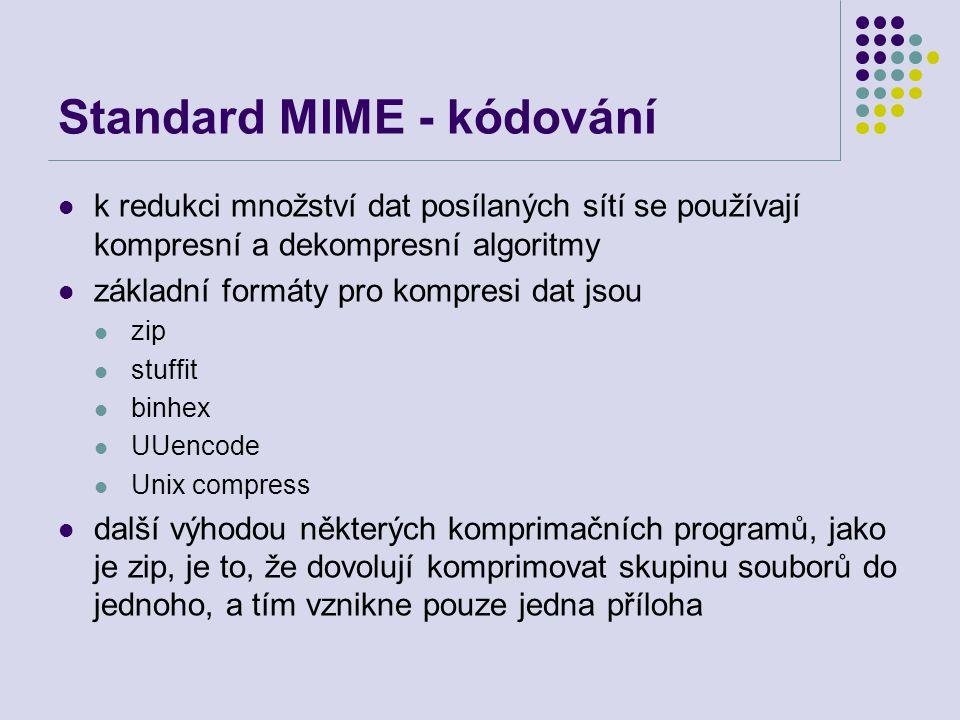Standard MIME - kódování