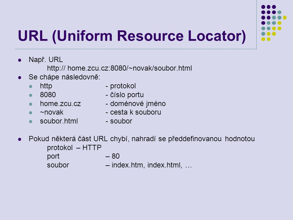 URL (Uniform Resource Locator)