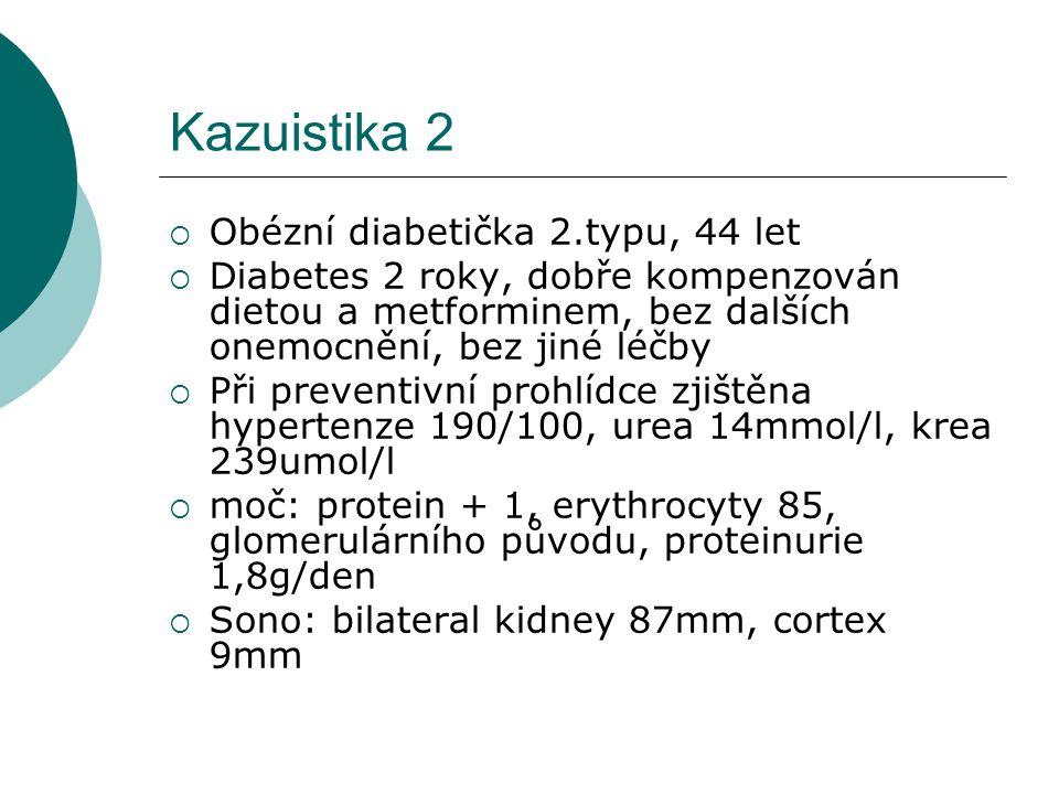 Kazuistika 2 Obézní diabetička 2.typu, 44 let