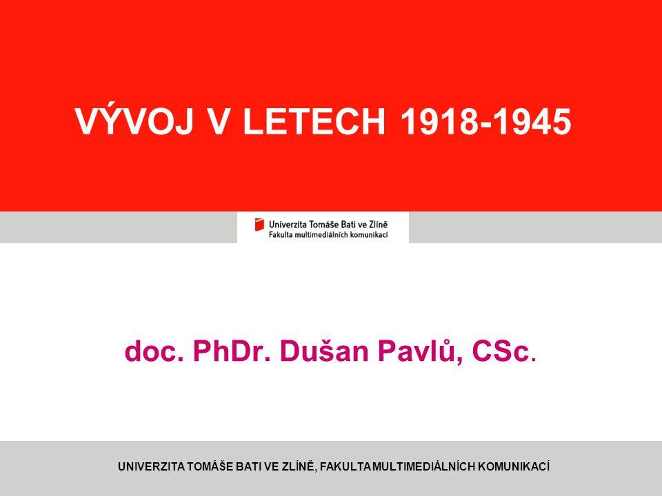 doc. PhDr. Dušan Pavlů, CSc.