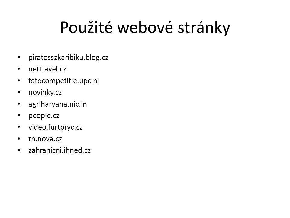 Použité webové stránky