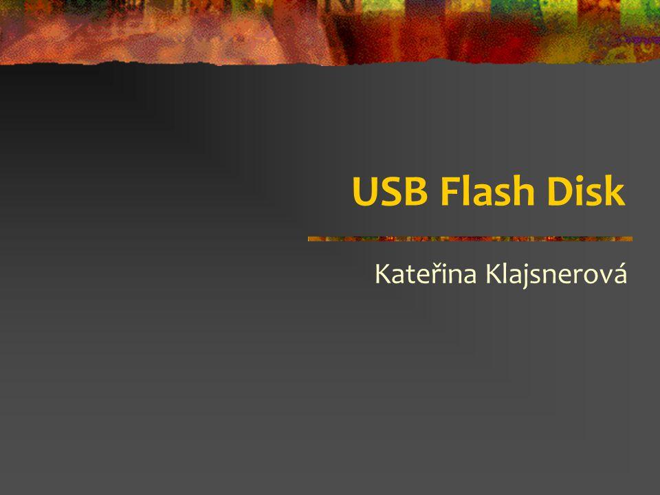 USB Flash Disk Kateřina Klajsnerová