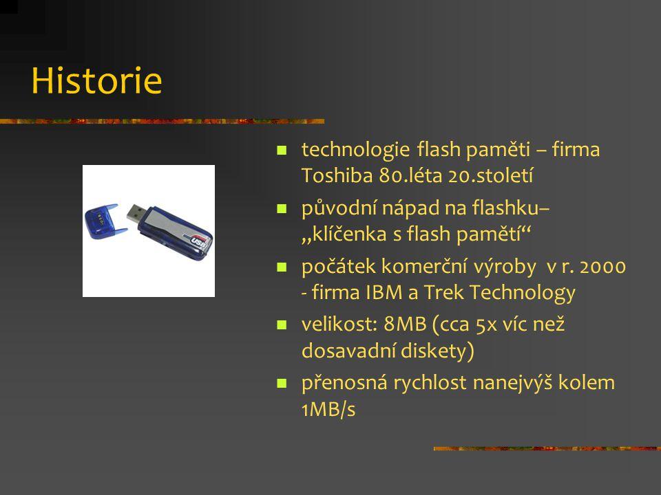 Historie technologie flash paměti – firma Toshiba 80.léta 20.století