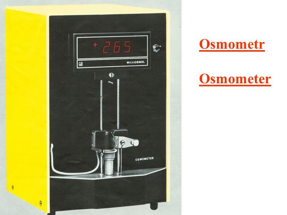 Osmometr Osmometer