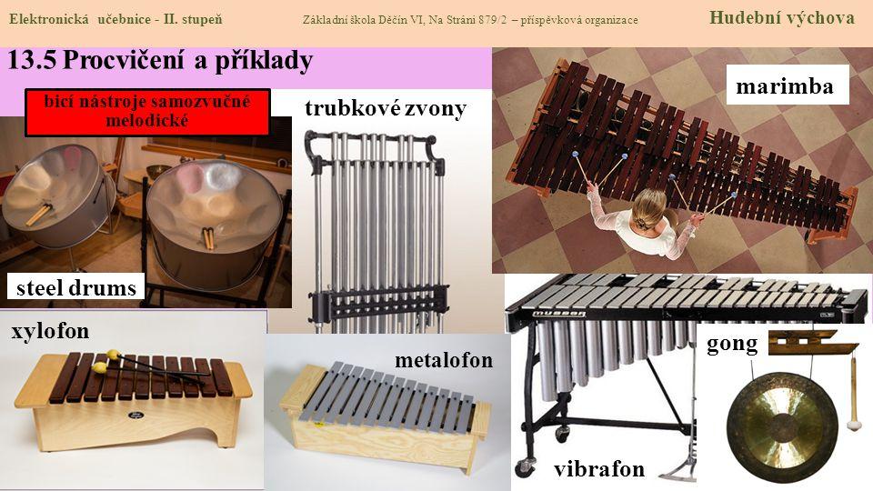 bicí nástroje samozvučné