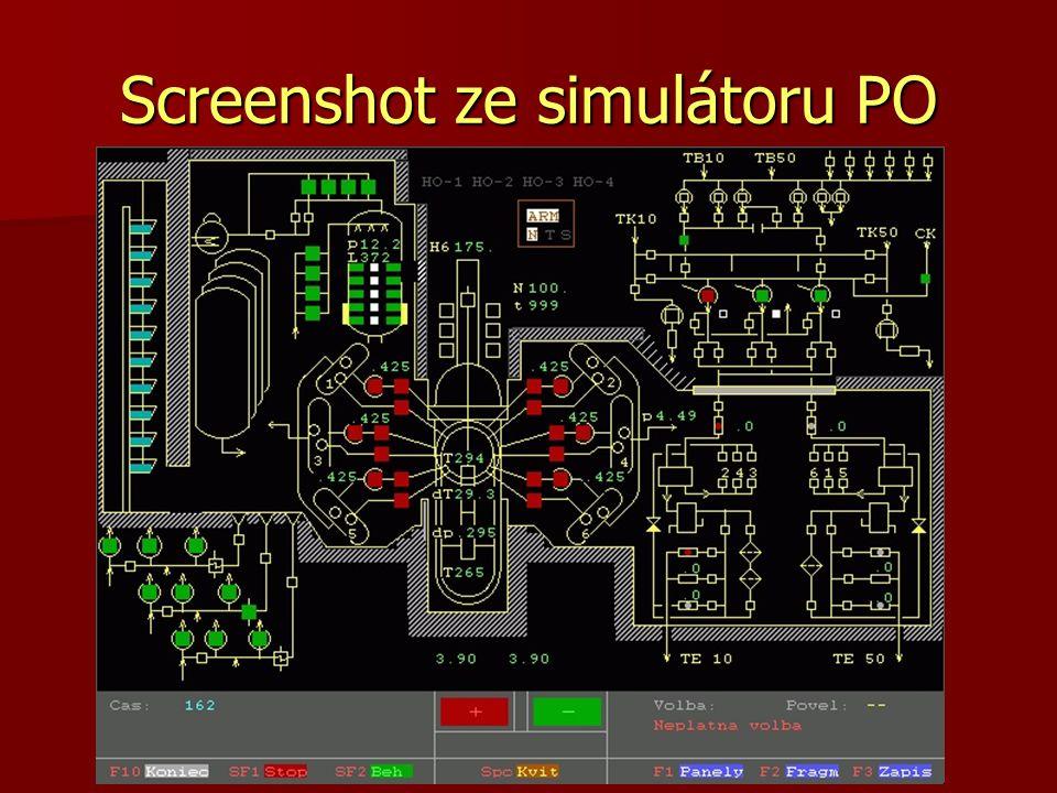 Screenshot ze simulátoru PO