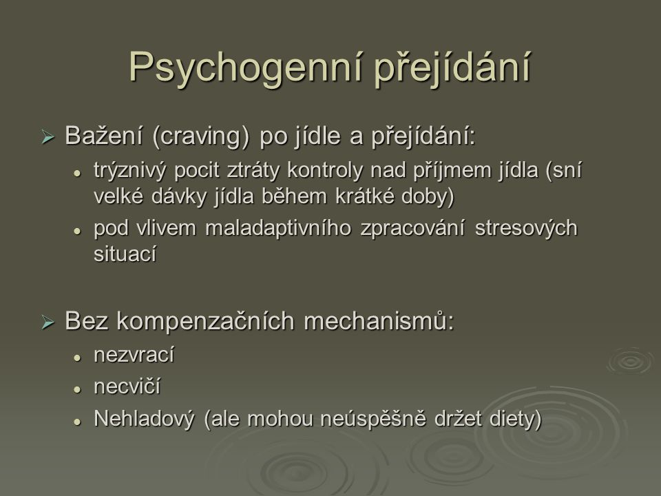 Psychogenní přejídání