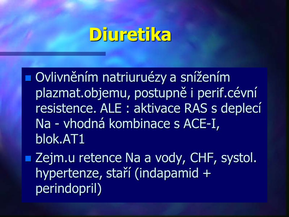 Diuretika