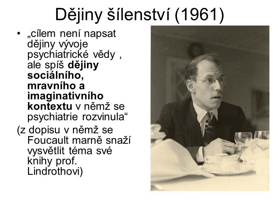 Dějiny šílenství (1961)