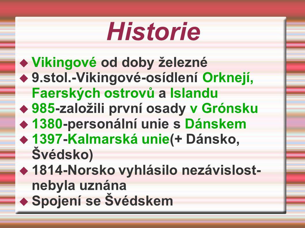 Historie Vikingové od doby železné