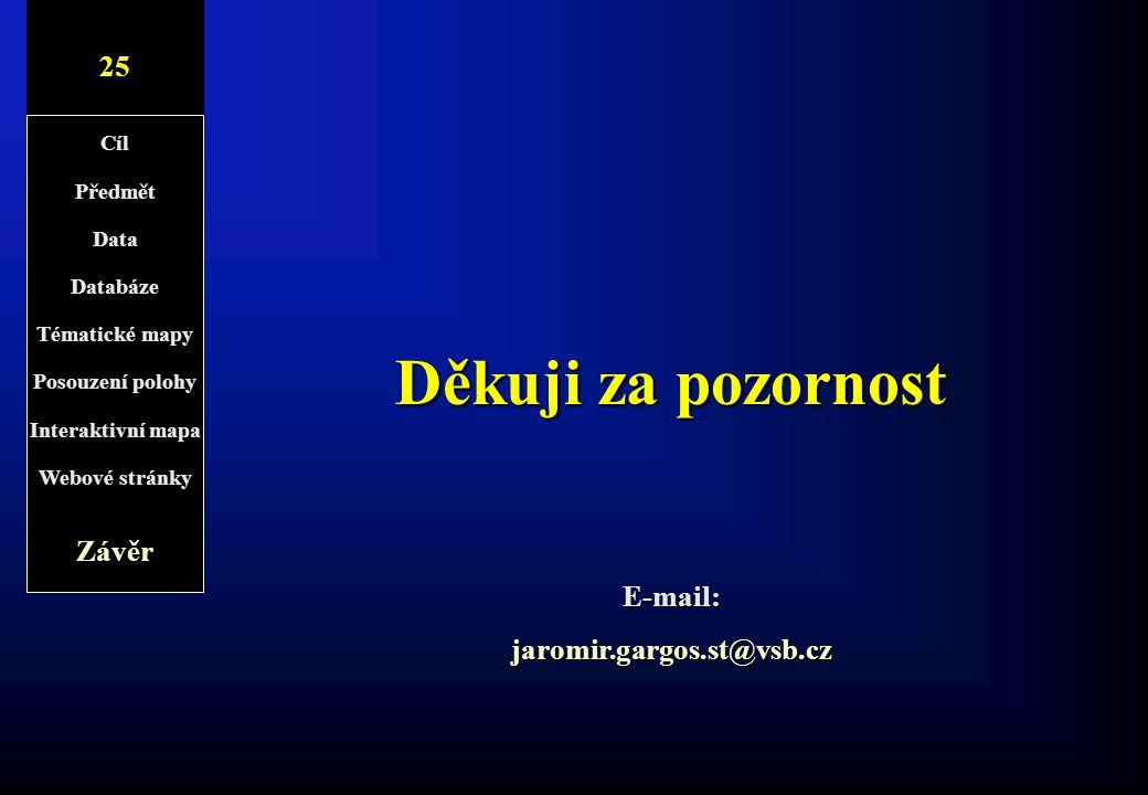 E-mail: jaromir.gargos.st@vsb.cz