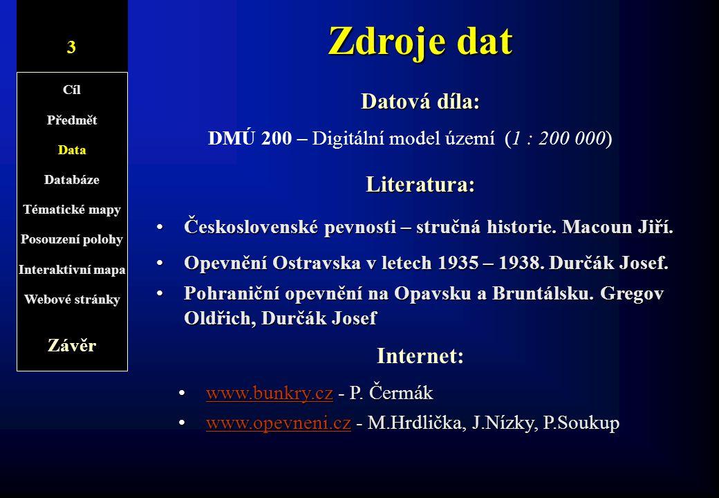 DMÚ 200 – Digitální model území (1 : 200 000)