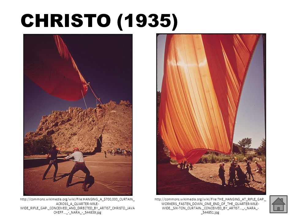 CHRISTO (1935)