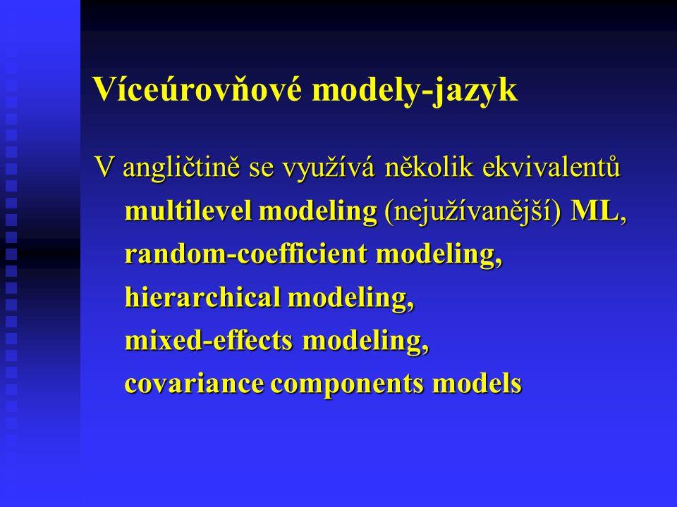 Víceúrovňové modely-jazyk