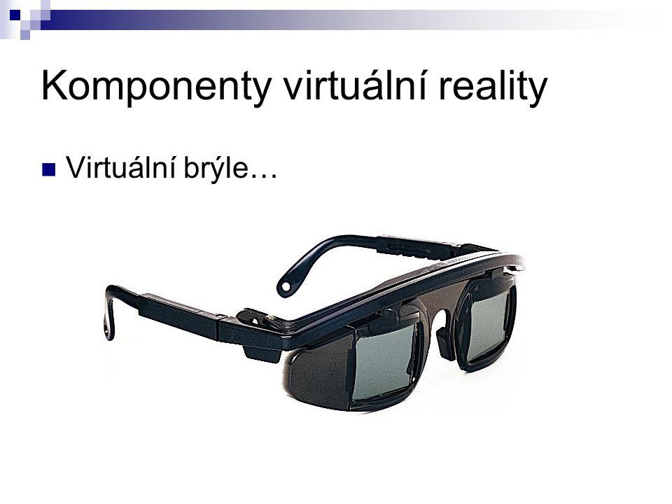 Komponenty virtuální reality