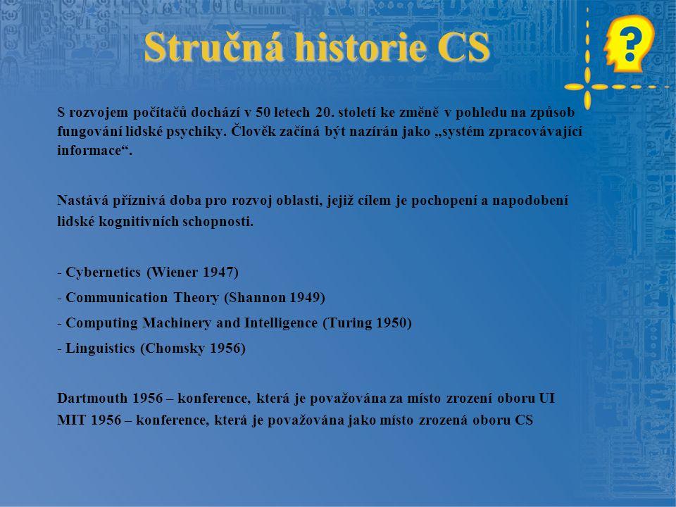 Stručná historie CS