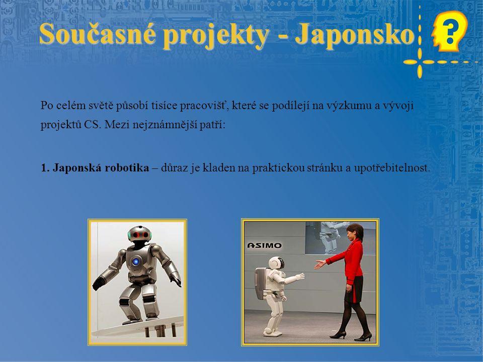 Současné projekty - Japonsko