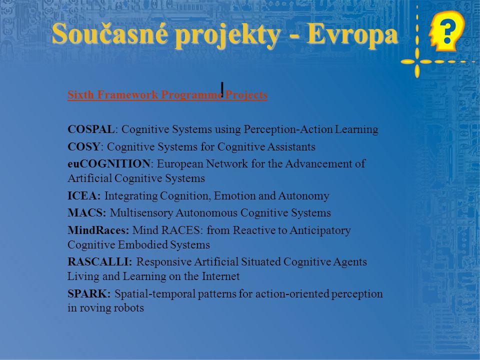 Současné projekty - Evropa