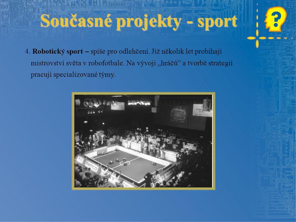 Současné projekty - sport