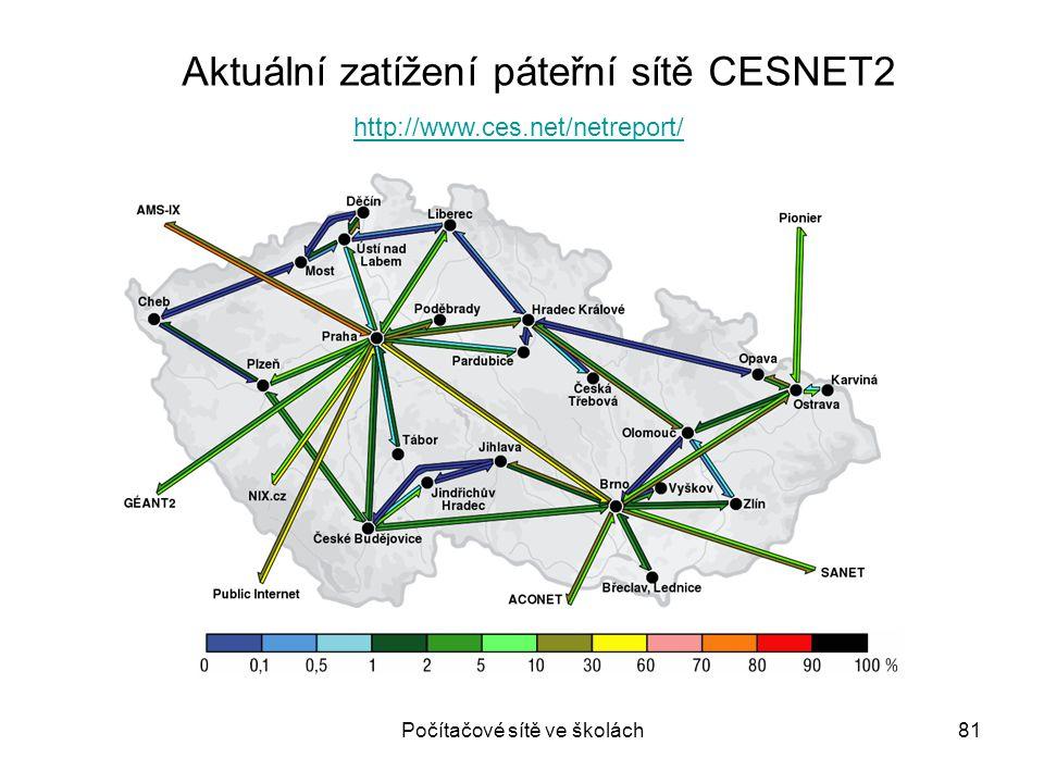 Počítačové sítě ve školách