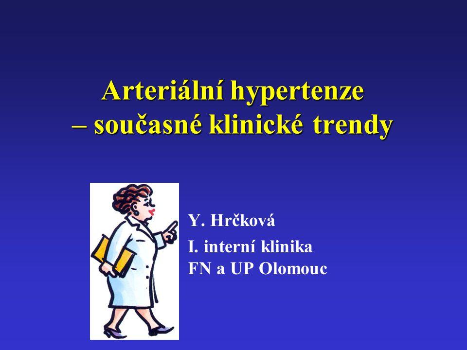 Arteriální hypertenze – současné klinické trendy