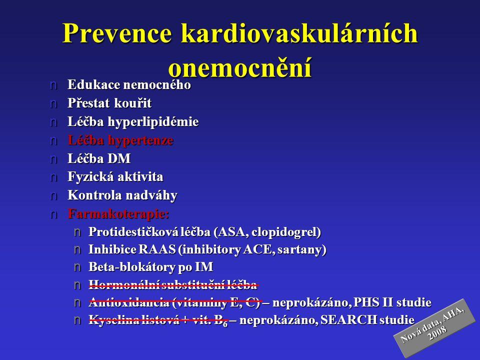 Prevence kardiovaskulárních onemocnění