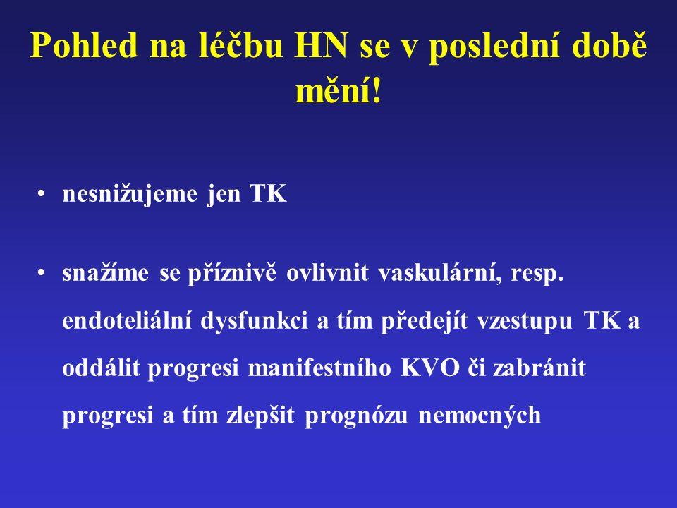 Pohled na léčbu HN se v poslední době mění!