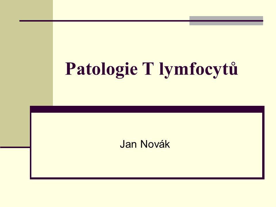 Patologie T lymfocytů Jan Novák
