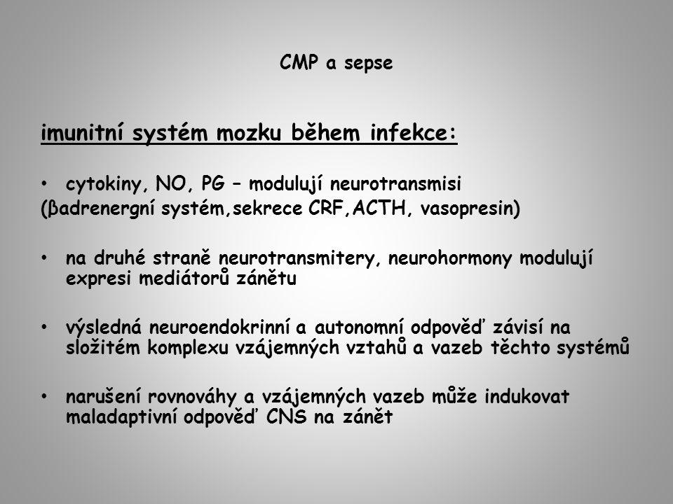 imunitní systém mozku během infekce: