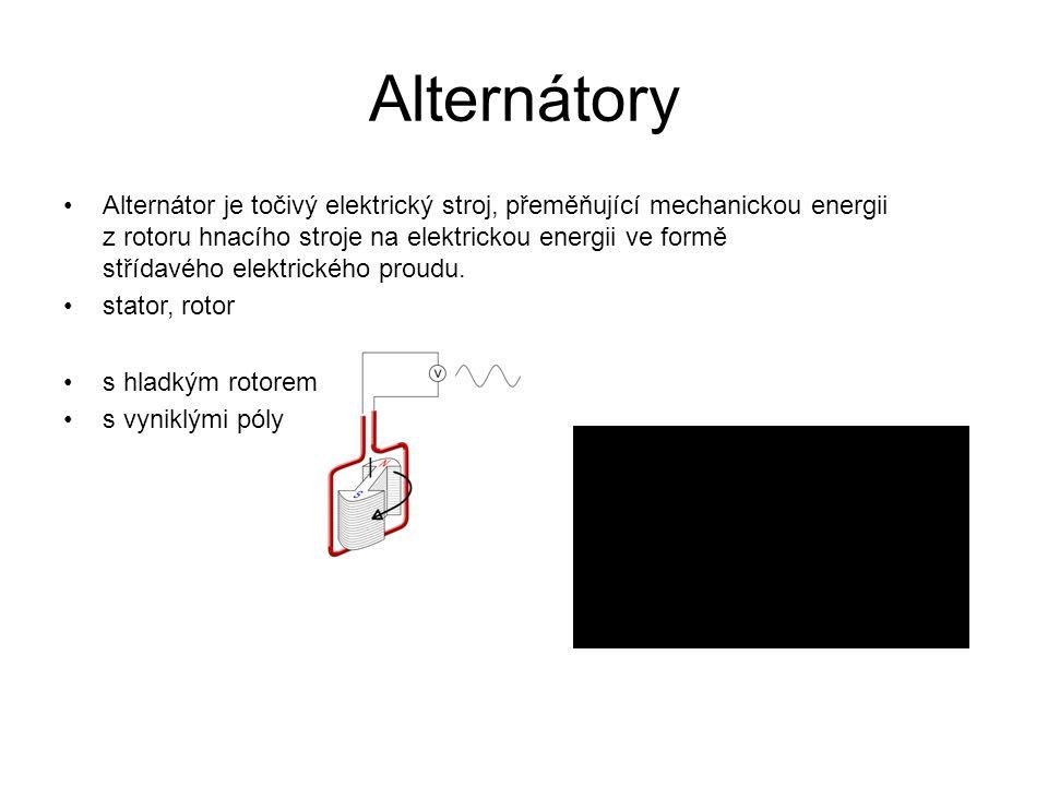 Alternátory