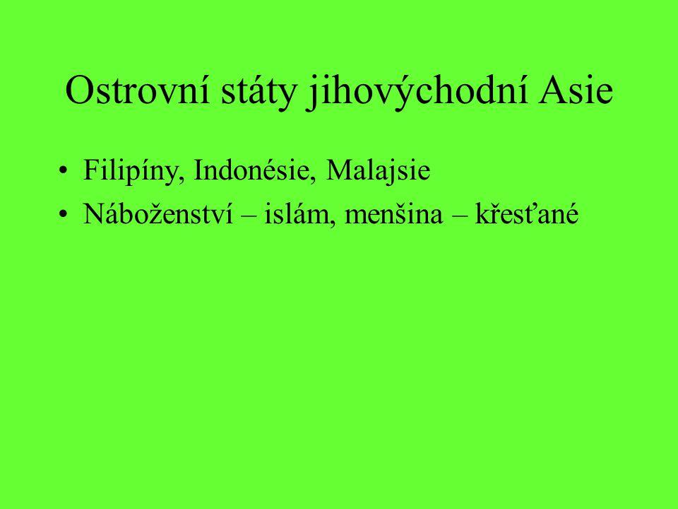 Ostrovní státy jihovýchodní Asie