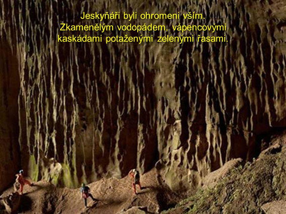 Jeskyňáři byli ohromeni vším