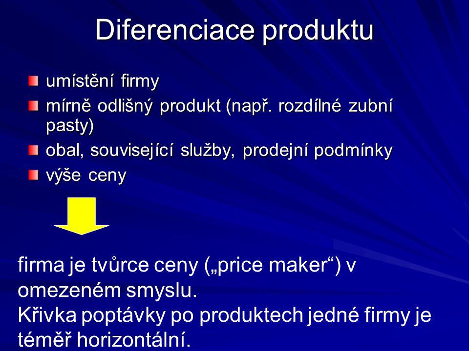 Diferenciace produktu
