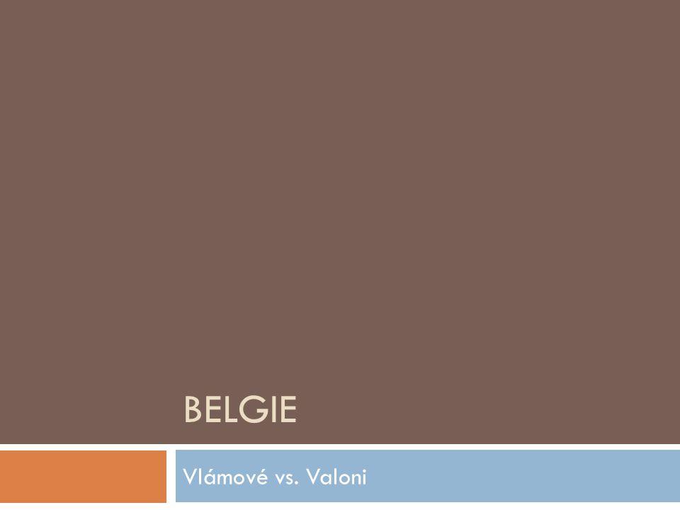 Belgie Vlámové vs. Valoni