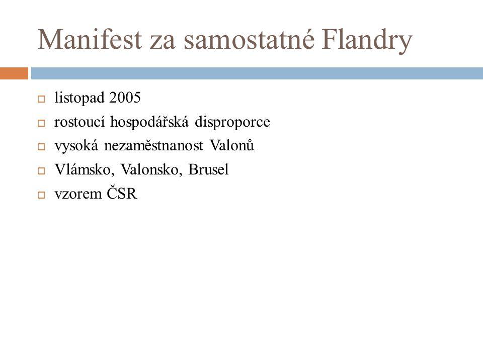 Manifest za samostatné Flandry